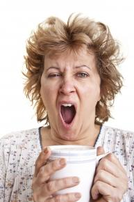 Your dentist in Visalia can keep you from looking this tired all day