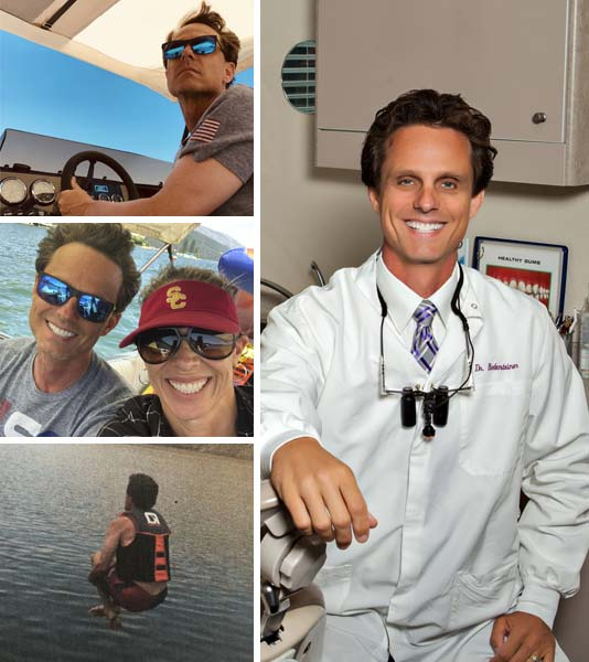 Multiple photos of Dr Bodensteiner who is a dentist in Visalia, CA